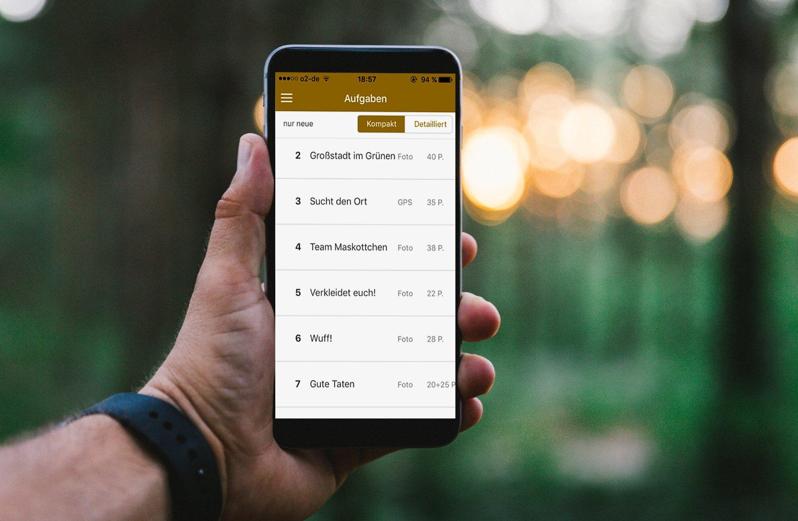 Scavenger Hunt App