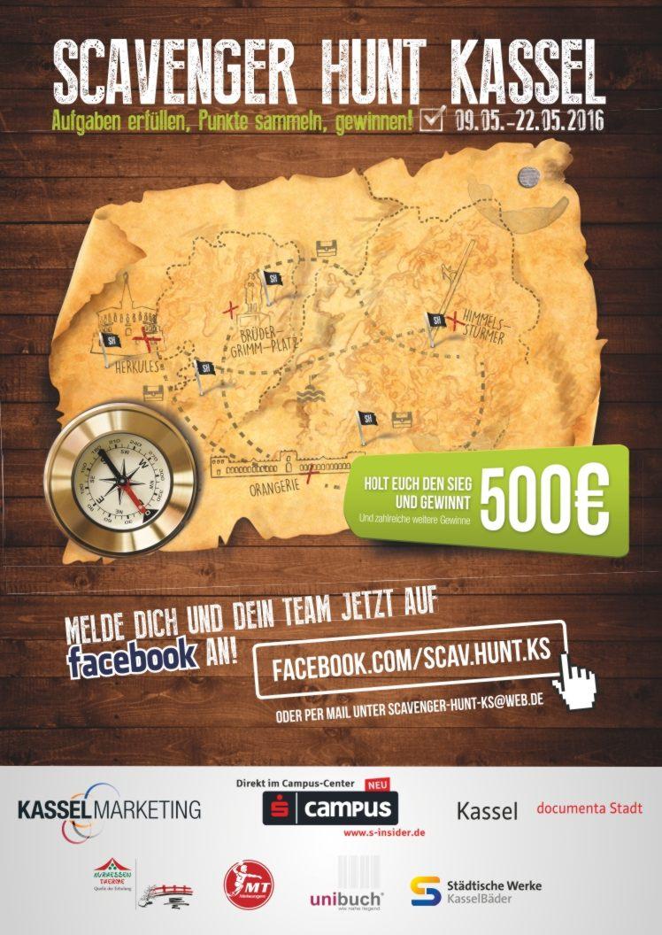 Scavenger Hunt Kassel Plakat
