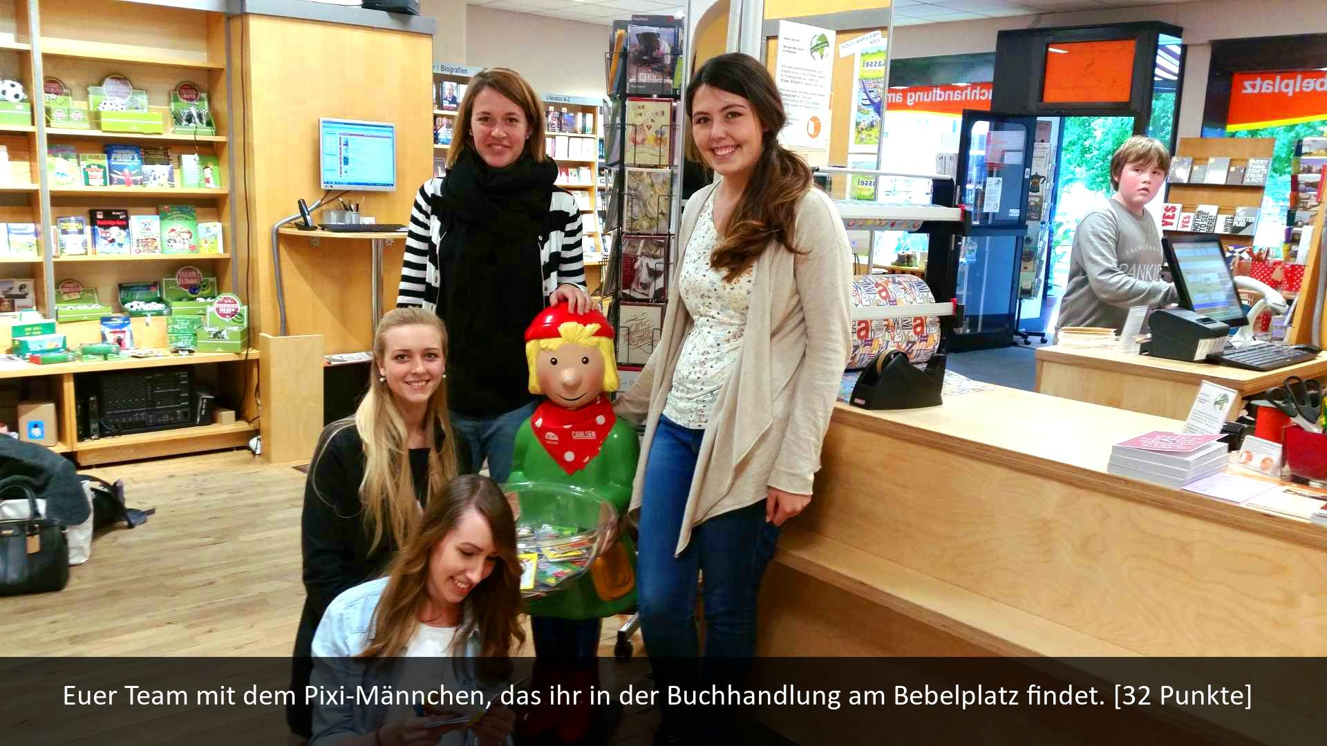 Scavenger Hunt Studenten Buchhandlung