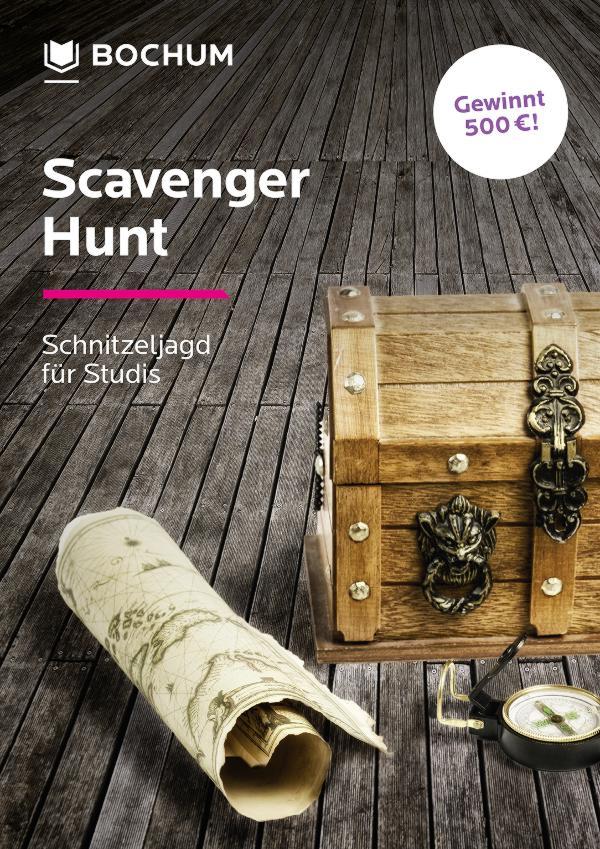 Scavenger Hunt Bochum Plakat 2