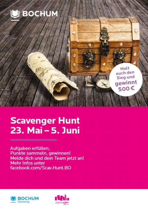 Scavenger Hunt Bochum Plakat