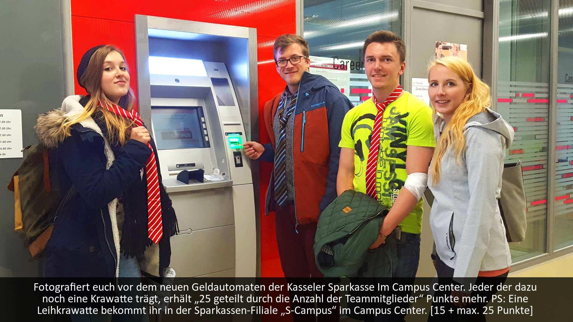 Scavenger Hunt Studenten Stadtsparkasse
