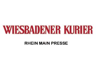 Der Wiesbadener Kurier berichtete über die Scavenger Hunt Wiesbaden