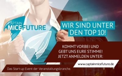 Wir sind nominiert! Beim Captain Mice Future Award 2018