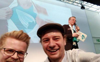 Scavenger Hunt auf der CeBIT 2018