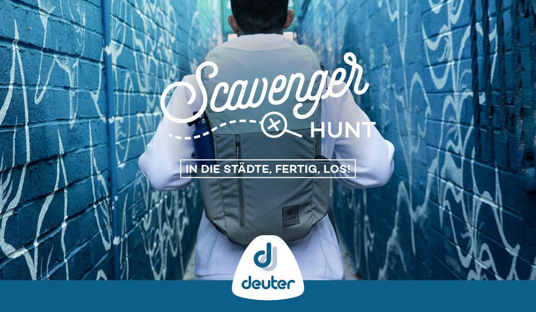 Pressemitteilung: Die Deuter Scavenger Hunt – Ein Corona-konformes Großevent trotz Lockdown